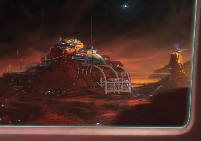 Illustration for article titled Go To Mars With These Fantastic Scenes From Kim Stanley Robinson's Red Mars