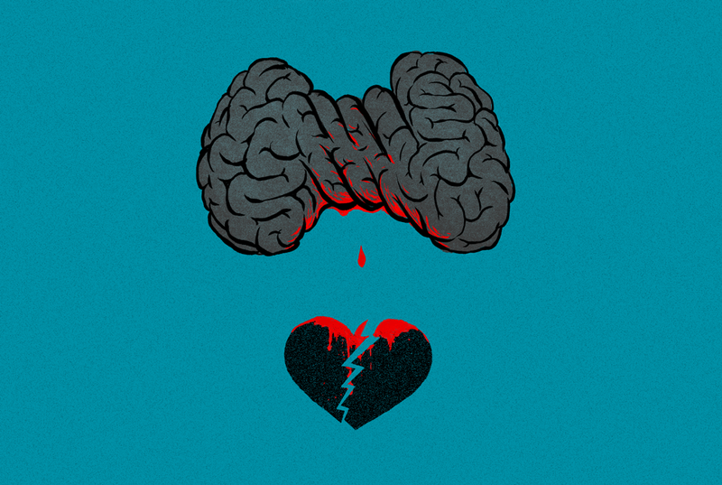 Illustration for article titled Here's What Breaking Up Does to Your Brain