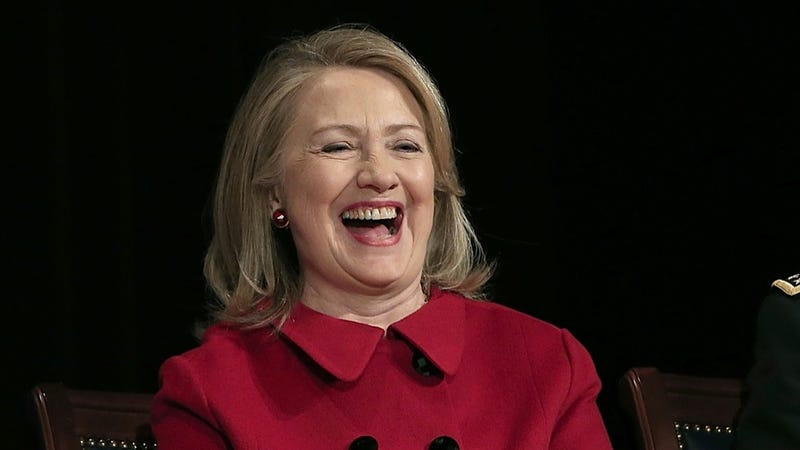 Illustration for article titled Conservatives Silenced by Irony: Fox May Produce Hillary TV Movie