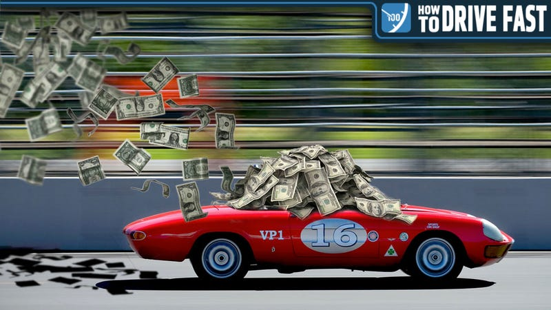 Illustration for article titled How To Earn A Shit-Ton Of Cash As A Pro Racecar Driver