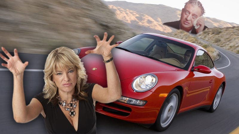 Illustration for article titled The Time I Drove A Sex-Crazed Cougar's Porsche 911 To Rodney Dangerfield's Widow's House