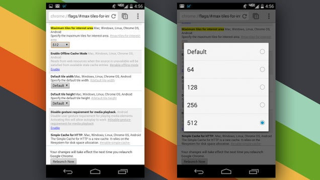 oekgpokvtptku5oacoog - Speed Up Chrome for Android with this Settings Tweak