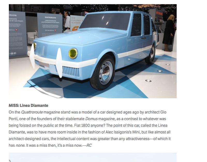 Illustration for article titled architect designed car