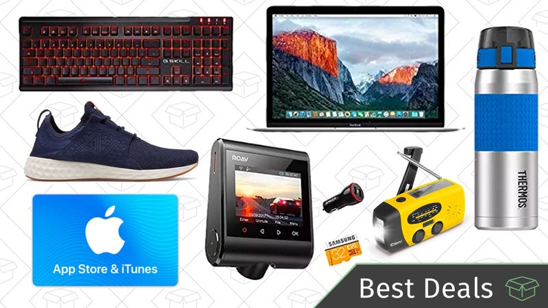 Illustration for article titled Thursday's Best Deals: MacBook, Dash Cam, Thermos Sale, and More
