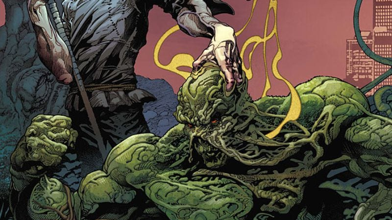 Illustration for article titled Swamp Thing gets a fresh start by remembering that nature is scary
