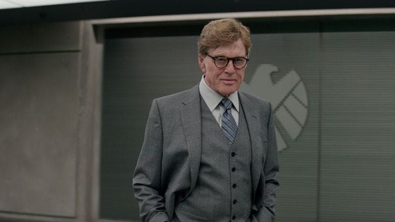 Robert Redford as Alexander Pierce in Captain America: The Winter Soldier