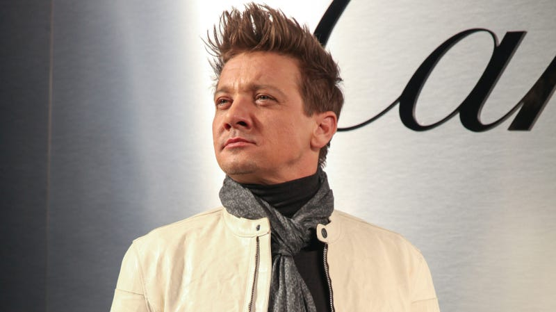 Illustration for article titled Tag has a lot of CGI thanks to Jeremy Renner's broken arms