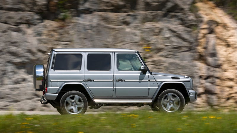 Illustration for article titled The Days of Flattening Pedestrians While in Reverse With Your V12 Mercedes G-Wagen Are Over