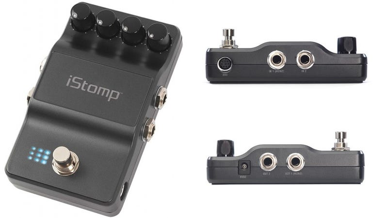Illustration for article titled DigiTech's iPhone Guitar Pedal Lets You Shred Without Your Phone