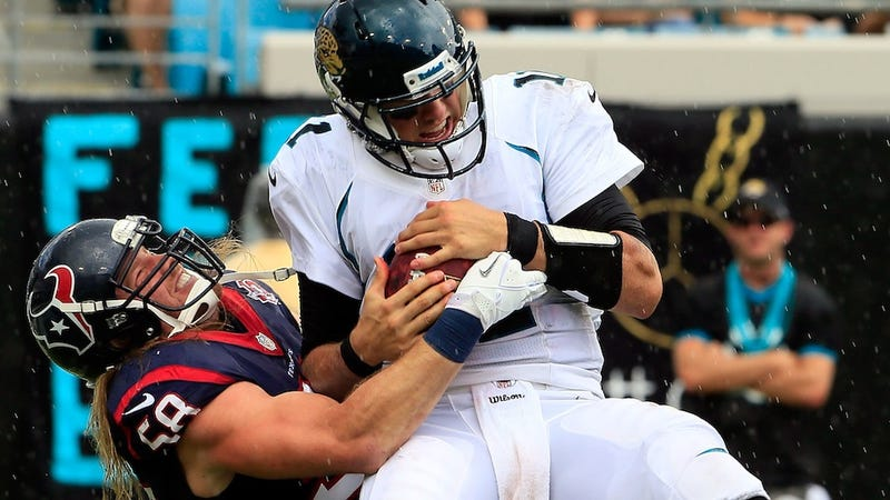 Illustration for article titled Why Do The Jacksonville Jaguars Refuse To Bench The League's Worst Quarterback?