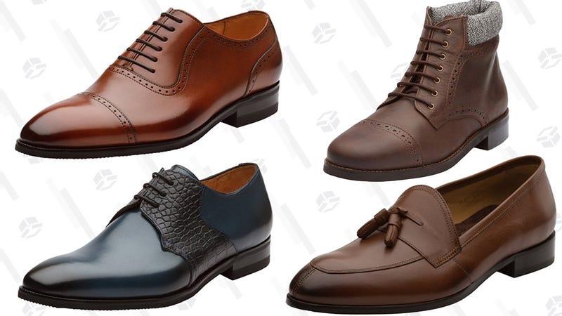 Dapper Shoes Co. Gold Box | Amazon
