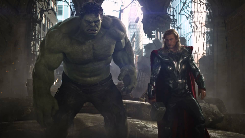 This Might Be Our First Look at the Hulk and Thor in Action For Thor: Ragnarok
