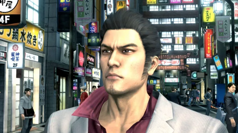 This screenshot is of the original Yakuza 3 for the PS3.