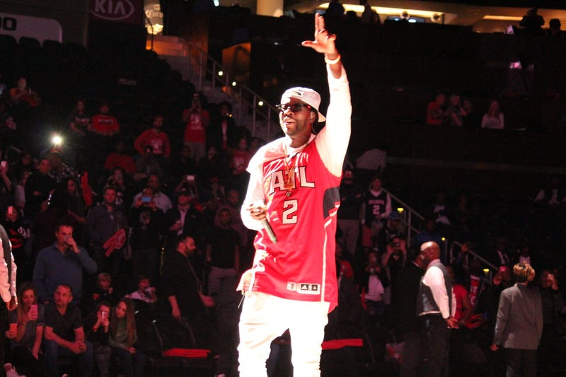 Illustration for article titled 2 Chainz Is The Atlanta Hawks MVP