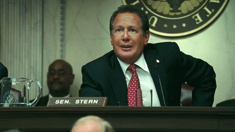 Garry Shandling as Senator Stern in Iron Man 2