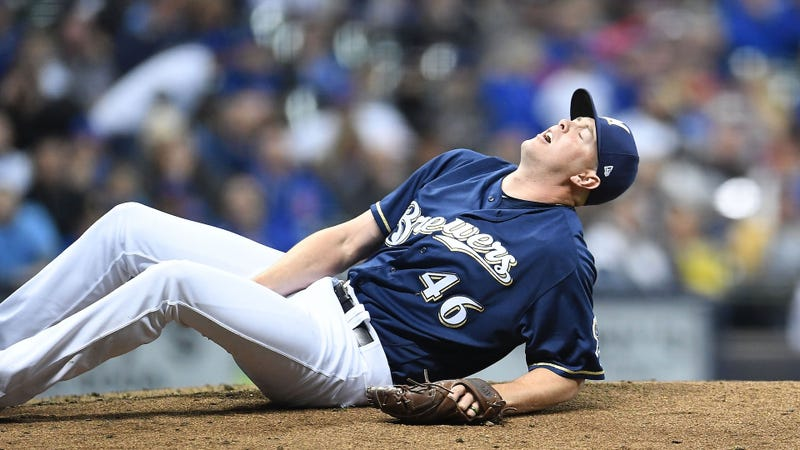 Illustration for article titled Corey Knebel's Injury Sure Is A Bummer