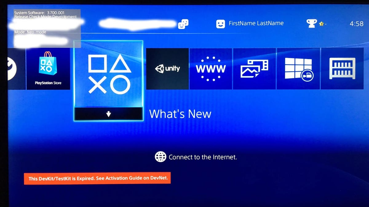 Guy Buys PS4 Dev Kit Full Of Data From Closed Studio