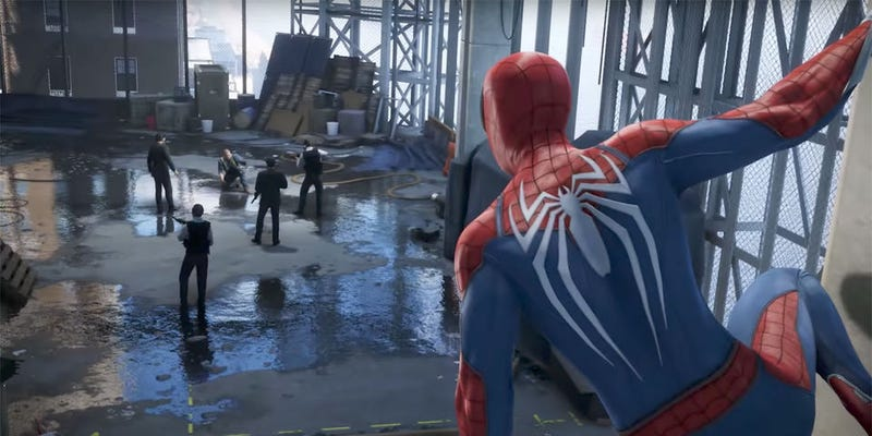 Illustration for article titled People Who Haven't Played Spider-Man Are Mad The Developers Took Out A Puddle