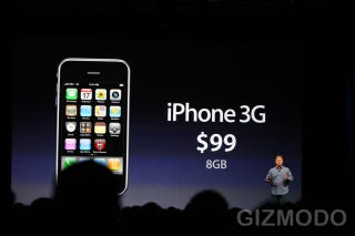 Illustration for article titled 8GB iPhone 3G Will Sell for $99 Alongside 3GS