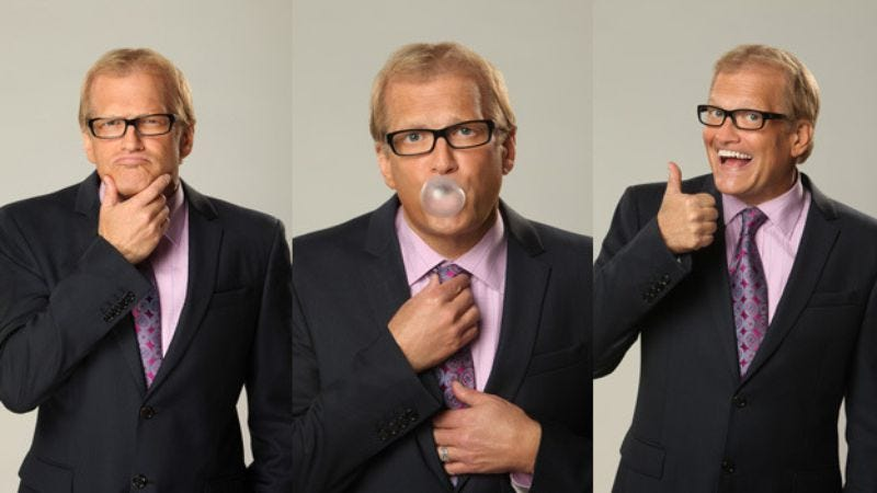 Illustration for article titled Drew Carey remembers when The Tonight Show really meant something