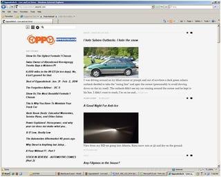 Illustration for article titled Oppo on ancient Internet Exploder