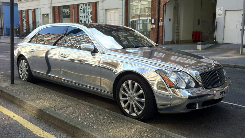 Illustration for article titled Your chromed Maybach awaits