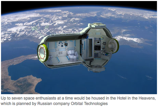 Illustration for article titled Finally, You Can Get A Hotel Room In Space