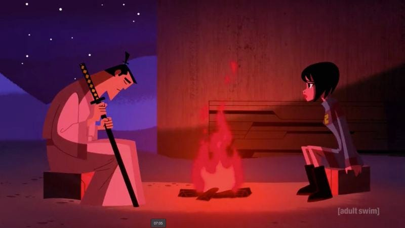 Illustration for article titled The penultimate episode of Samurai Jack is a slightly wobbly calm before the storm