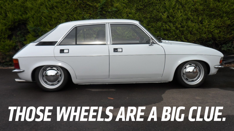 Illustration for article titled Guess What This Austin Allegro Actually Is Underneath