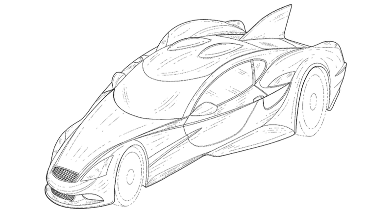Illustration for article titled ​The Road-Going DeltaWing Is Just As Freakish As You'd Hoped