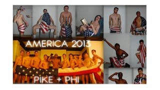 Illustration for article titled Michigan Frat Bros Create Tenuous Excuse to Send Semi-Nude Pics of Themselves All Over Campus