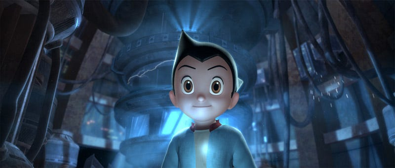 Illustration for article titled Astro Boy's Pointy Head Is A Lightning Rod