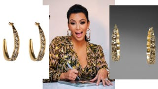 Illustration for article titled Kim Kardashian Accused Of Copying Alexis Bittar Jewelry