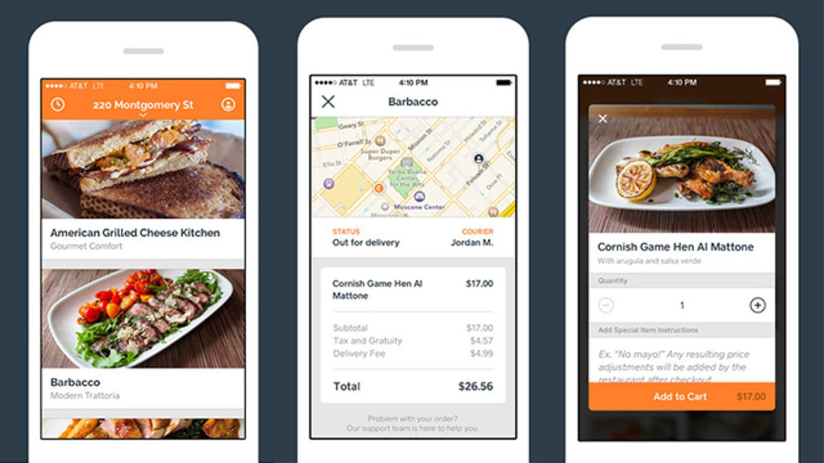 Square\'s New Food Delivery App Wants to Eat Seamless\' Lunch
