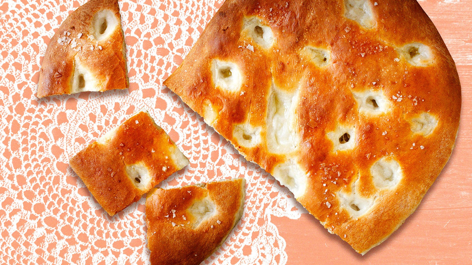 My nonna's focaccia tastes like love soaked in olive oil