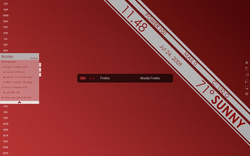 The Big Red Desktop