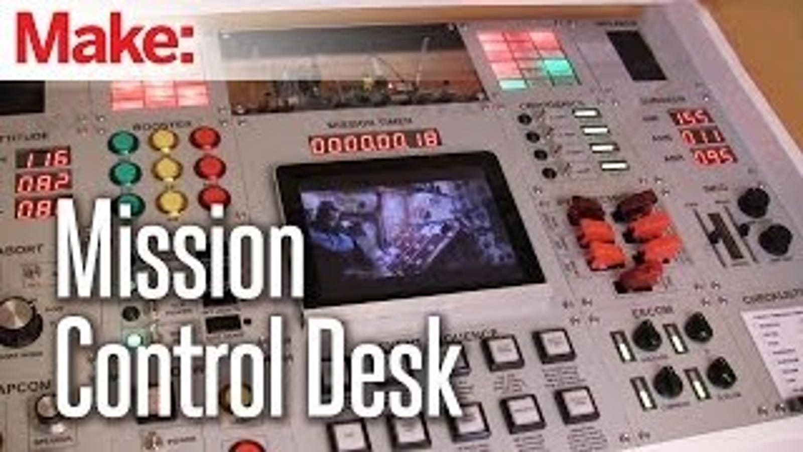Oh Man, I Want This DIY Mission Control Desk So So Bad
