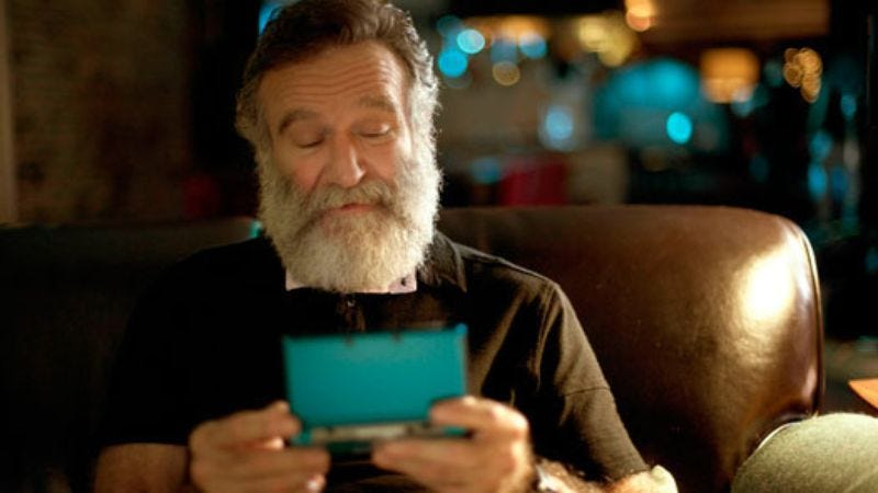 Illustration for article titled Despite petition, Nintendo doesn't sound like it's putting Robin Williams in a Zelda game