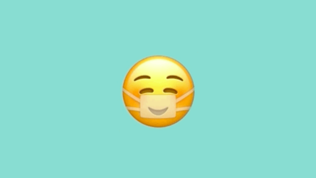 Apple's New Emoji Wants You to Know That You Don't Have to Be Miserable When Wearing a Face Mask