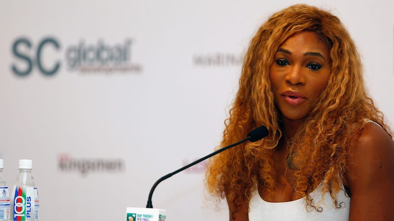 Illustration for article titled Serena Williams Slams Russian Tennis Official for Racist, Sexist Comment
