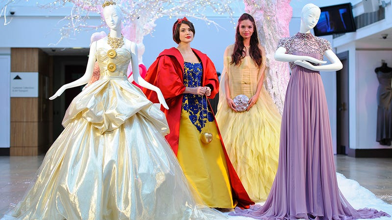 Gaze Upon Gorgeous Couture Gowns Inspired by Disney Princesses