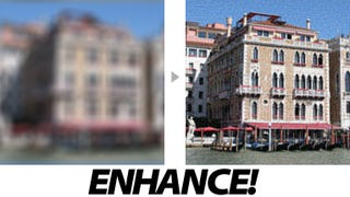 """Illustration for article titled Incredible CSI-Like """"Enhance!"""" App Fixes Your Unfocused Photos"""