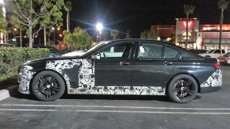 Illustration for article titled New BMW M5 hits the mall before world debut