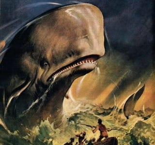 Illustration for article titled Animal Planet Is Making A Moby Dick TV Movie From The Whale's POV