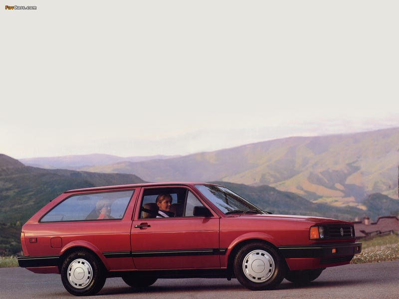 Illustration for article titled The 1987 VW Fox Wagon Is The Budget Shooting Brake Of Our Dreams