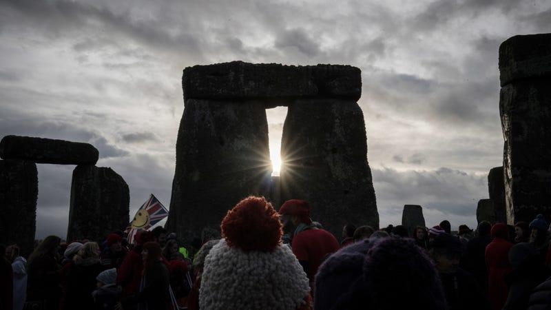 Stonehenge at Winter Solstice. Photo: Getty.