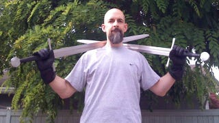 Illustration for article titled Sword Fighting with Neal Stephenson and His Mongoliad Co-Authors