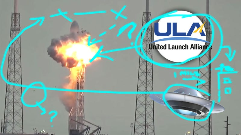Illustration for article titled Everything We Know About The SpaceX Rocket Explosion Sabotage Theory