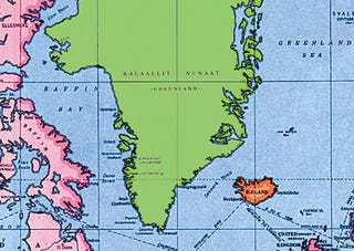 Illustration for article titled Greenland Thinks It Looks Fat In Mercator Projection