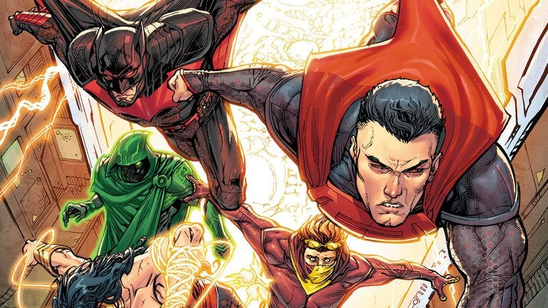 Illustration for article titled New comic releases include Inhumanity and Justice League 3000